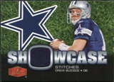2006 Upper Deck Flair Showcase Stitches Jersey Drew Bledsoe #SHSDB