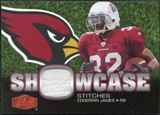 2006 Upper Deck Flair Showcase Stitches Jersey Edgerrin James #SHSEJ