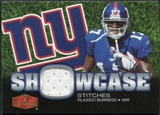 2006 Flair Showcase Showcase Stitches Jersey #SHSPB Plaxico Burress