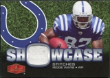 2006 Upper Deck Showcase Showcase Stitches Jersey #SHSRW Reggie Wayne