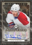 2006/07 Upper Deck Artifacts Autofacts #AFRO Mike Ribeiro Autograph