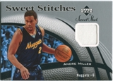 2006/07 Upper Deck Sweet Shot Stitches #AM Andre Miller