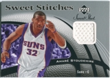 2006/07 Upper Deck Sweet Shot Stitches #AS Amare Stoudemire