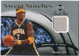 2006/07 Upper Deck Sweet Shot Stitches #JO Jermaine O'Neal