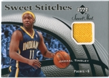 2006/07 Upper Deck Sweet Shot Stitches #JT Jamaal Tinsley