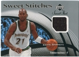 2006/07 Upper Deck Sweet Shot Stitches #KG Kevin Garnett