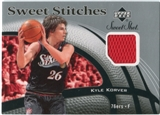 2006/07 Upper Deck Sweet Shot Stitches #KK Kyle Korver