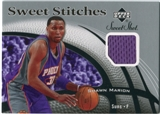 2006/07 Upper Deck Sweet Shot Stitches #MA Shawn Marion
