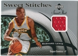 2006/07 Upper Deck Sweet Shot Stitches #RL Rashard Lewis