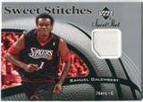 2006/07 Upper Deck Sweet Shot Stitches #SD Samuel Dalembert