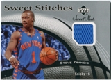2006/07 Upper Deck Sweet Shot Stitches #SF Steve Francis