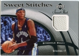 2006/07 Upper Deck Sweet Shot Stitches #SS Stromile Swift