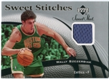 2006/07 Upper Deck Sweet Shot Stitches #WS Wally Szczerbiak