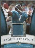 2006 Upper Deck Exquisite Collection Patch Silver #EPBL Byron Leftwich /50