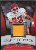 2006 Upper Deck Exquisite Collection Patch Silver #EPGO Tony Gonzalez /50
