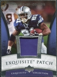2006 Upper Deck Exquisite Collection Patch Silver #EPJJ Julius Jones /50