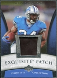 2006 Upper Deck Exquisite Collection Patch Silver #EPKJ Kevin Jones /50