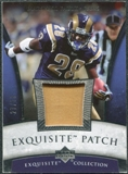 2006 Upper Deck Exquisite Collection Patch Silver #EPMF Marshall Faulk /50