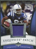 2006 Upper Deck Exquisite Collection Patch Silver #EPMH Marvin Harrison /50
