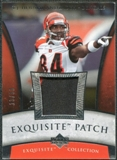2006 Upper Deck Exquisite Collection Patch Silver #EPTH T.J. Houshmandzadeh /50
