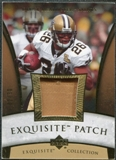 2006 Upper Deck Exquisite Collection Patch Gold #EPDM Deuce McAllister /30