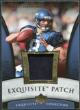 2006 Upper Deck Exquisite Collection Patch Gold #EPHA Matt Hasselbeck /30
