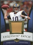 2006 Upper Deck Exquisite Collection Patch Gold #EPMB Marc Bulger /30