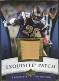 2006 Upper Deck Exquisite Collection Patch Gold #EPMF Marshall Faulk 5/30