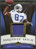 2006 Upper Deck Exquisite Collection Patch Gold #EPWA Reggie Wayne /30