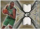 2006/07 Upper Deck SPx Winning Materials #WMAJ Al Jefferson