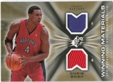 2006/07 Upper Deck SPx Winning Materials #WMBO Chris Bosh