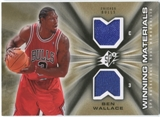 2006/07 Upper Deck SPx Winning Materials #WMBW Ben Wallace
