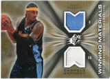 2006/07 Upper Deck SPx Winning Materials #WMCA Carmelo Anthony