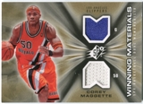2006/07 Upper Deck SPx Winning Materials #WMCM Corey Maggette