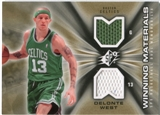 2006/07 Upper Deck SPx Winning Materials #WMDW Delonte West