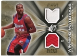 2006/07 Upper Deck SPx Winning Materials #WMEB Elton Brand