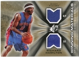2006/07 Upper Deck SPx Winning Materials #WMRH Richard Hamilton