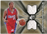 2006/07 Upper Deck SPx Winning Materials #WMSL Shaun Livingston