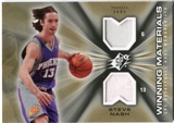 2006/07 Upper Deck SPx Winning Materials #WMSN Steve Nash