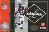 2007 Leaf Limited Football Hobby Box