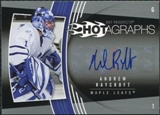 2006/07 Upper Deck Hot Prospects Hotagraphs #HAR Andrew Raycroft Autograph