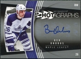 2006/07 Upper Deck Hot Prospects Hotagraphs #HBO Ben Ondrus Autograph