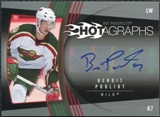 2006/07 Upper Deck Hot Prospects Hotagraphs #HBP Benoit Pouliot Autograph