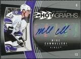 2006/07 Upper Deck Hot Prospects Hotagraphs #HCA Mike Cammalleri Autograph