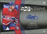 2006/07 Upper Deck Hot Prospects Hotagraphs #HCH Chris Higgins Autograph
