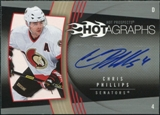 2006/07 Upper Deck Hot Prospects Hotagraphs #HCP Chris Phillips Autograph