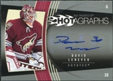 2006/07 Upper Deck Hot Prospects Hotagraphs #HDL David Leneveu Autograph