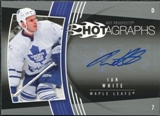 2006/07 Upper Deck Hot Prospects Hotagraphs #HIW Ian White Autograph