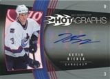 2006/07 Upper Deck Hot Prospects Hotagraphs #HKE Kevin Bieksa