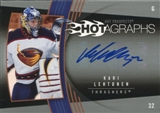 2006/07 Upper Deck Hot Prospects Hotagraphs #HKL Kari Lehtonen